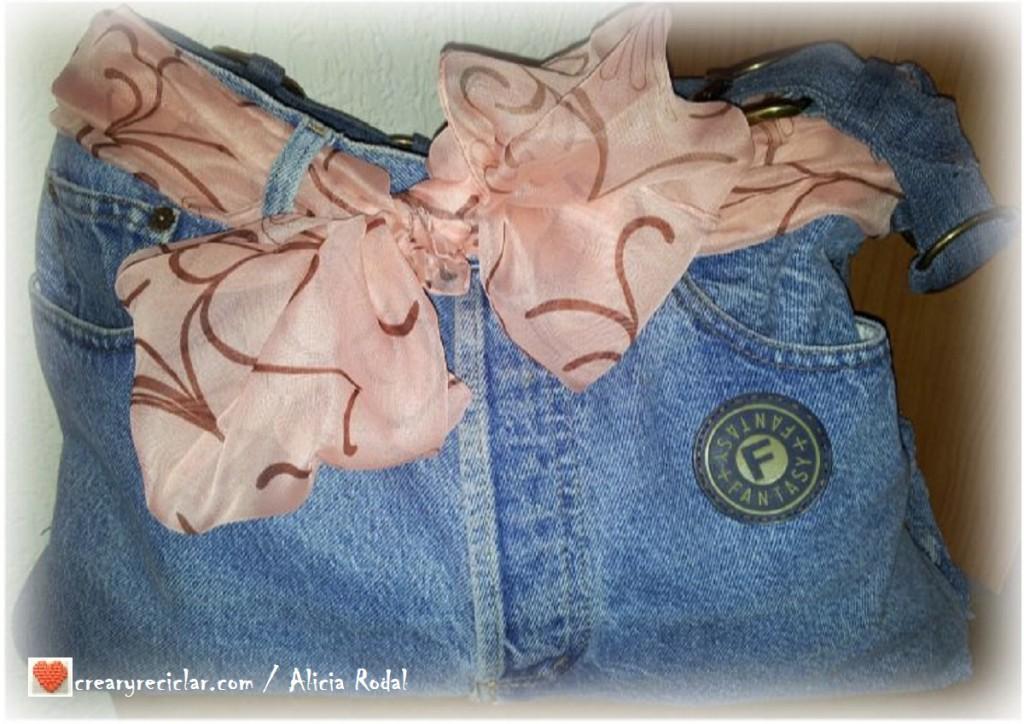 bolso de pantalón vaquero jeans