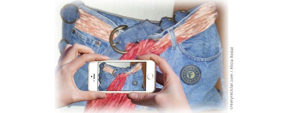 de pantalón a bolso en un click