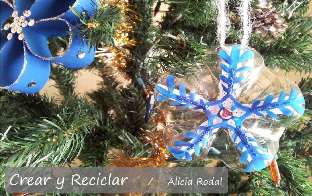 Ideas para Navidad con botellas de plástico