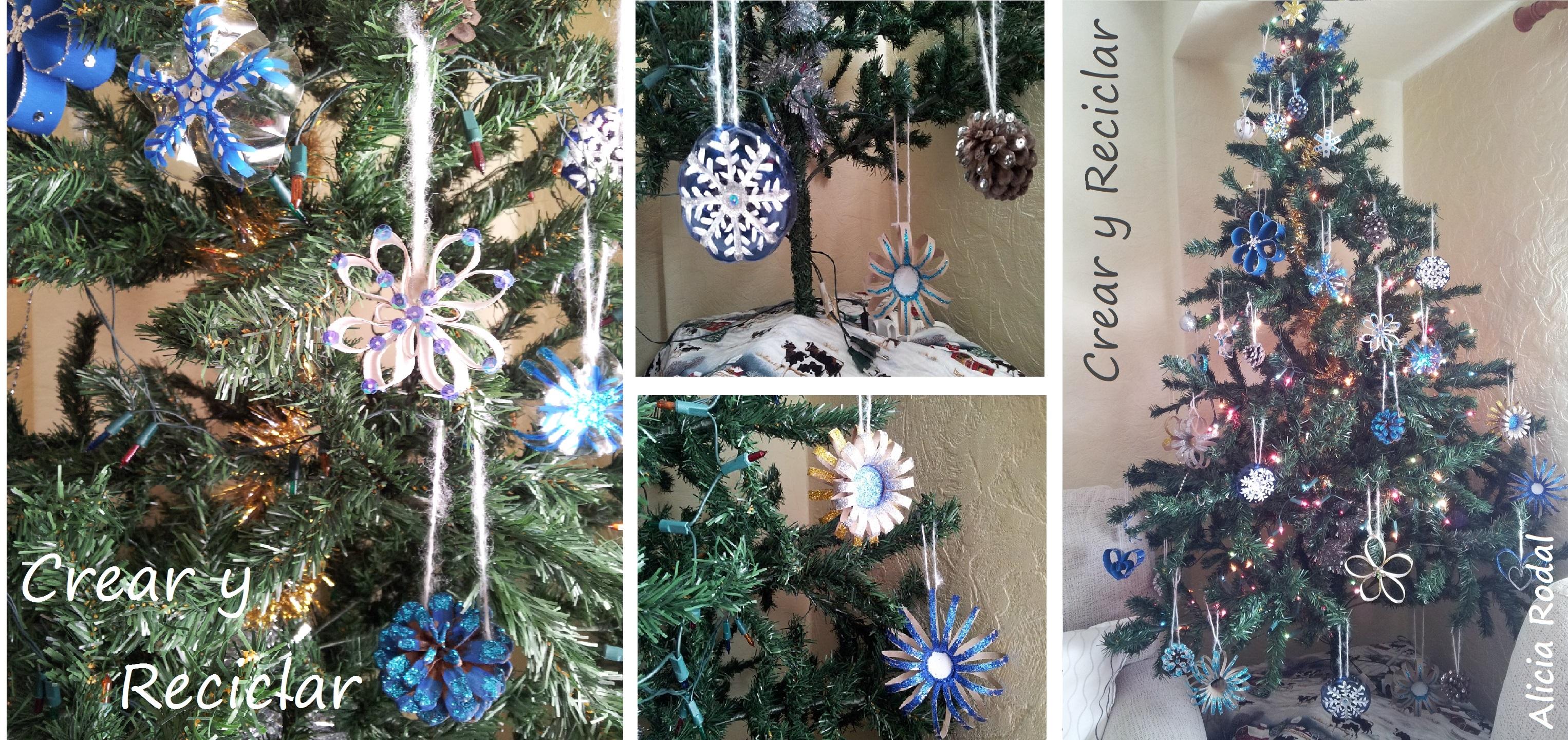 Nuestro árbol De Navidad Es único Crear Y Reciclar
