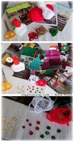 materiales postal de navidad 2