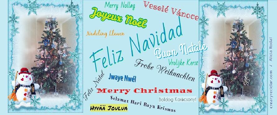 Postal de Feliz Navidad 2015
