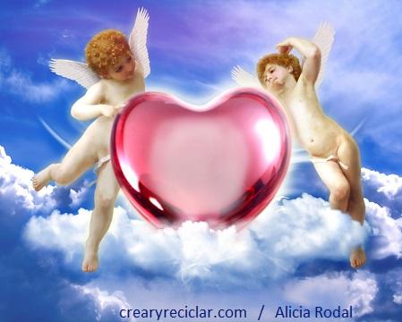 San Valentín. Cupido