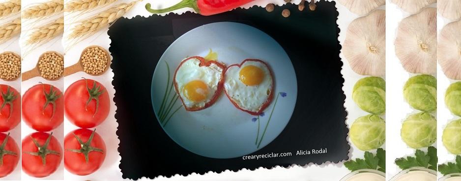 huevos fritos con mucho amor