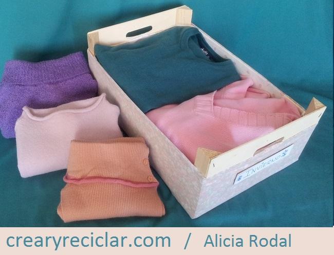 Ideas para reutilizar huacales o cajas de madera para organizar tu hogar