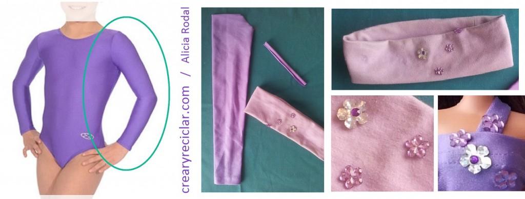materiales para vestido muñecas