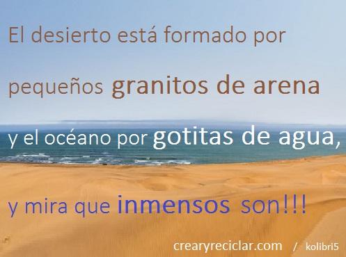 nuestro granito de arena