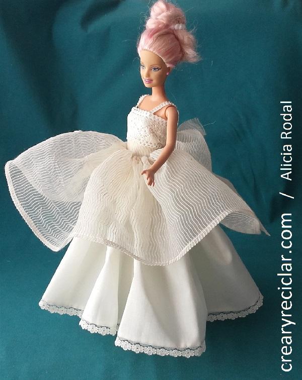 vestido comunion muñeca