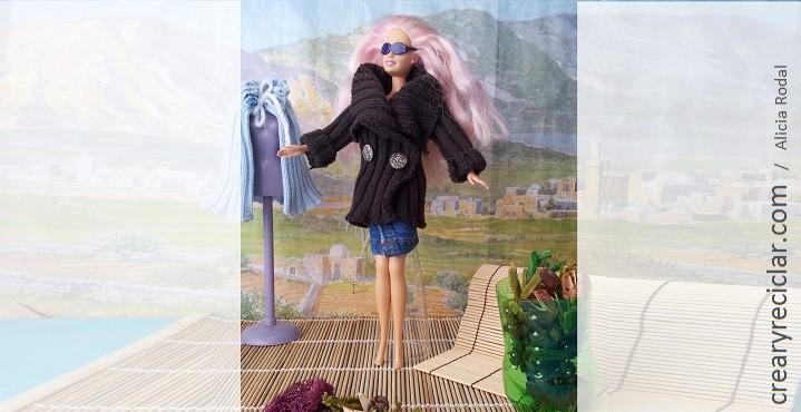 ropa muñeca chaqueta jersey