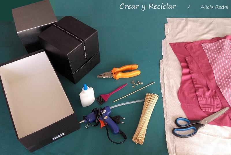 materiales para armarios de muñecas