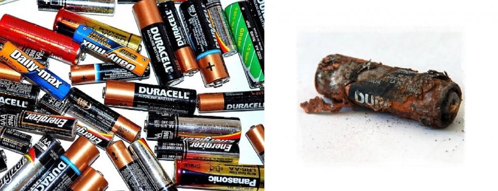 pilas contaminación desecho tóxico peligro
