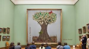 Cómo decorar un árbol con diferentes técnicas y materiales reciclados o materiales que tengamos en casa y lograr un efecto en 3D.