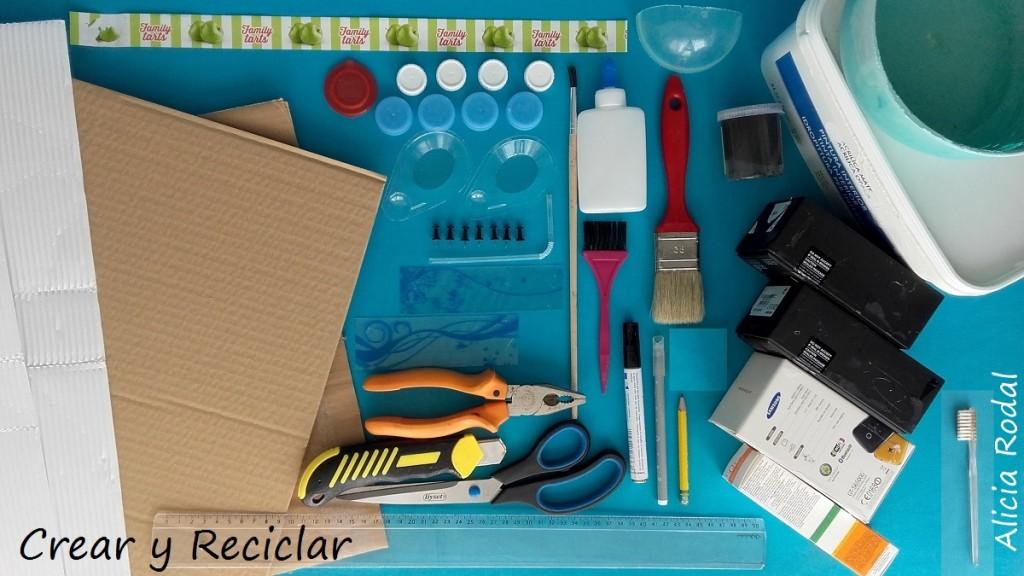 Cocina de muñecas con reciclaje DIY