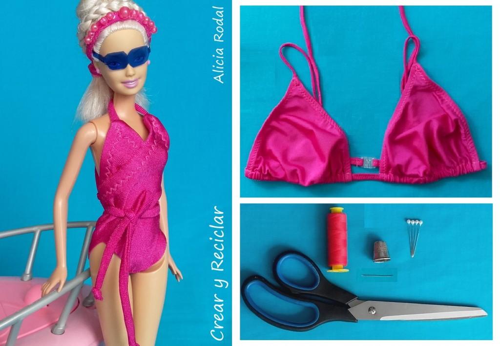 Bañador para muñecas DIY