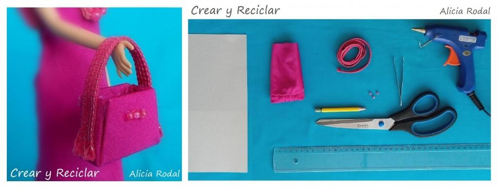 Bolso para muñecas con reciclaje DIY