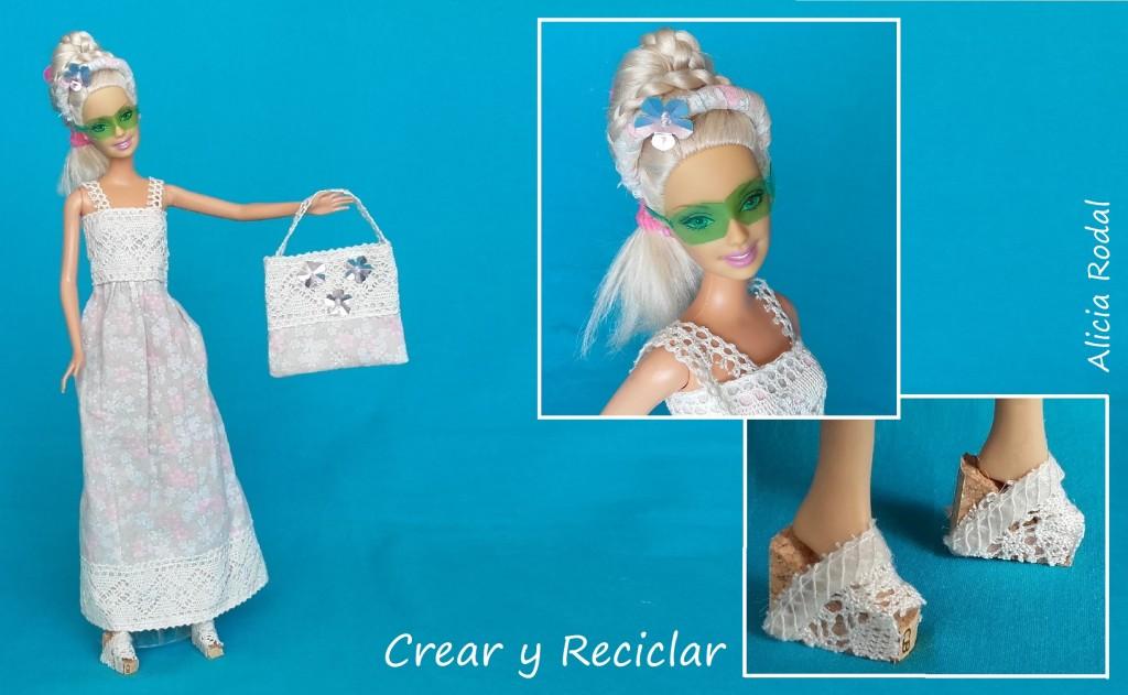 ropa y moda de verano para muñecas DIY con reciclaje