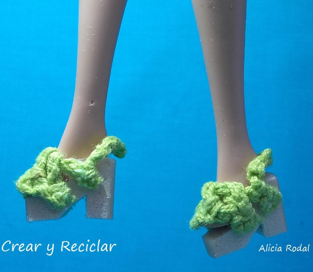 Zapatos para muñecas DIY