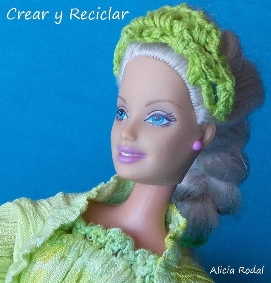 Vestido para muñecas DIY