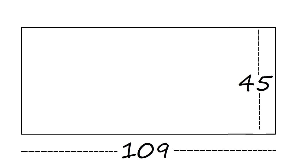 medidas del suelo de la casa de muñecas de cartón DIY