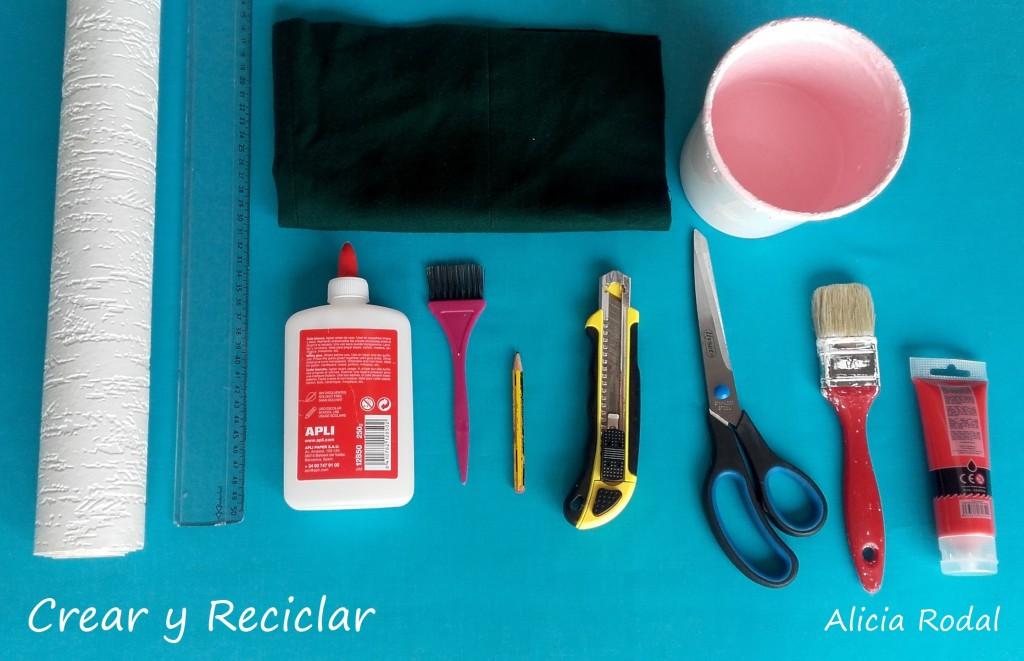 Materiales casa de muñecas DIY