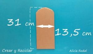 Cómo hacer una puerta de cartón para la casa de muñecas, cartón y otros materiales reciclados. DIY