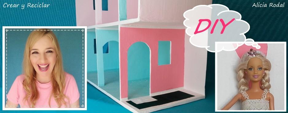Casa de muñecas de cartón Parte 5 DIY