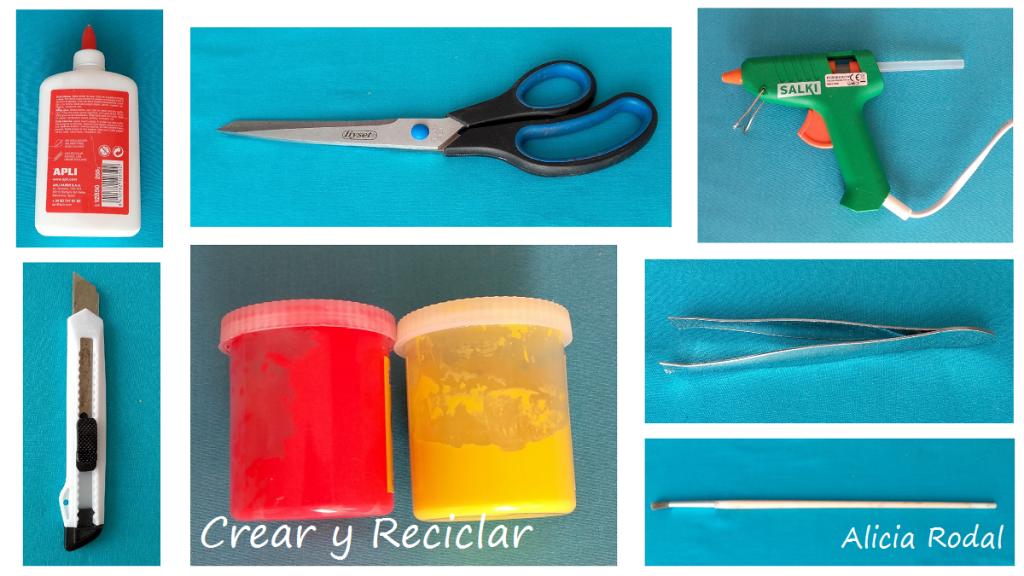 Materiales para mini jardín casa de muñecas DIY