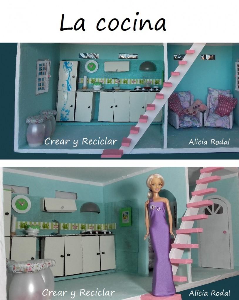 Decorando la casa de muñecas… con reciclaje DIY