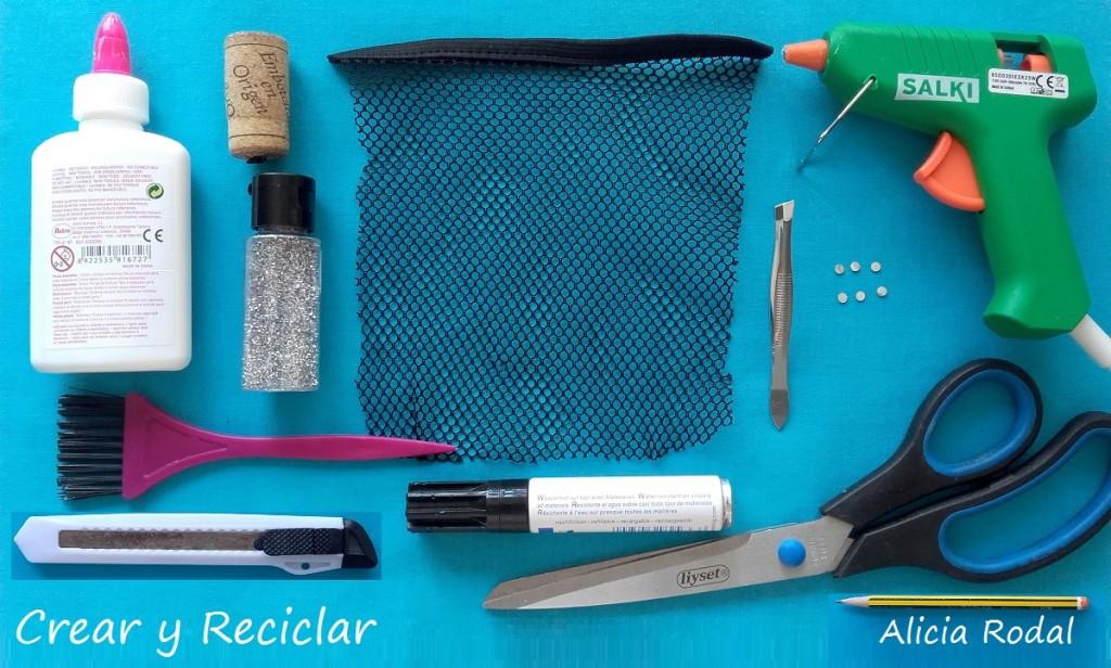 Materiales reciclados para Zapatos y bolso de fiesta fácil para muñecas DIY