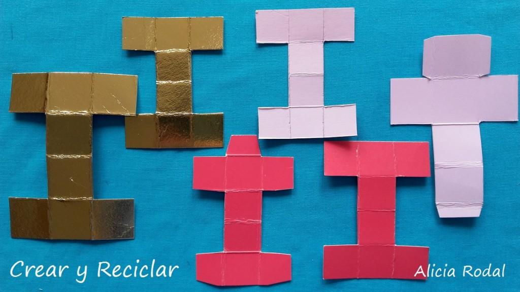 Cómo hacer Miniaturas de cajitas de regalos con material reciclado