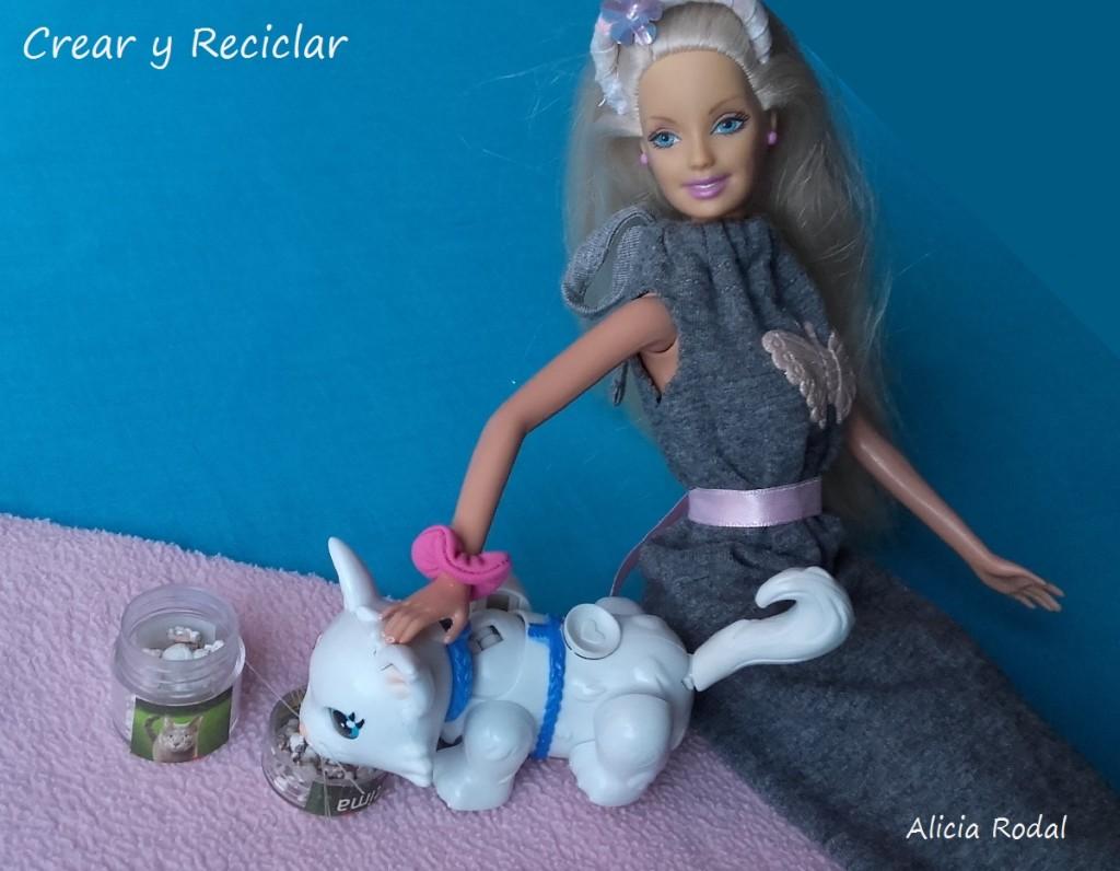 Miniaturas de productos para muñecas con reciclaje DIY