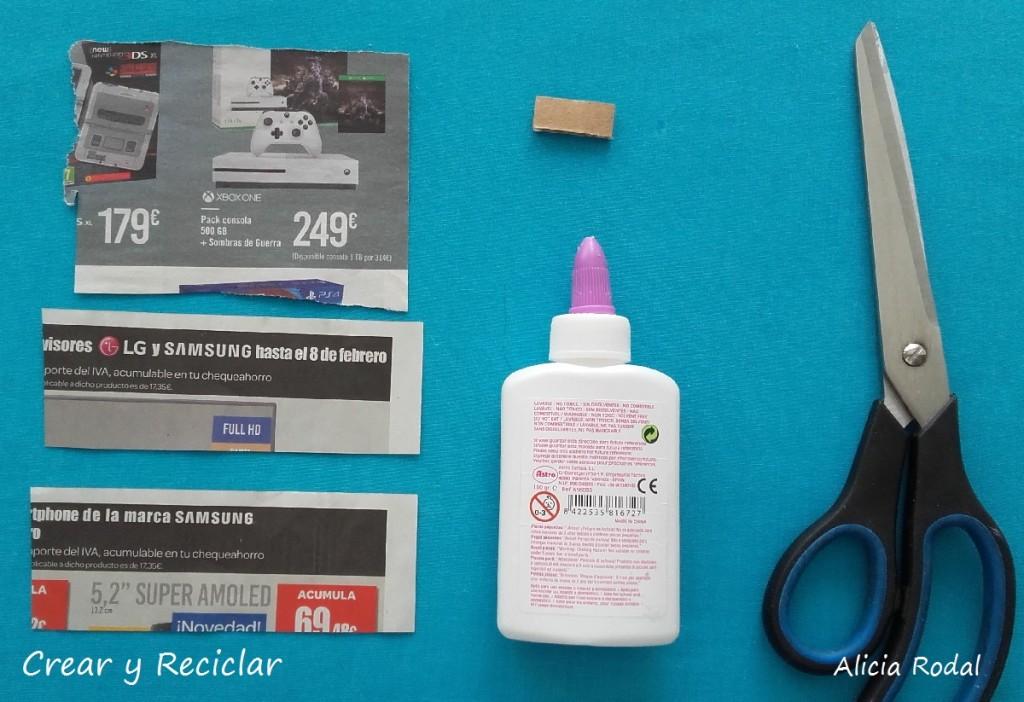 Televisor o televisión con mando o control remoto para muñecas con reciclaje DIY