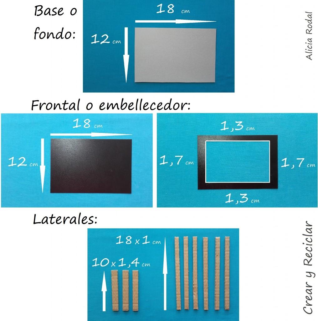 Como hacer una mini tele, televisor o televisión con mando a distancia o control remoto, para muñecas con reciclaje