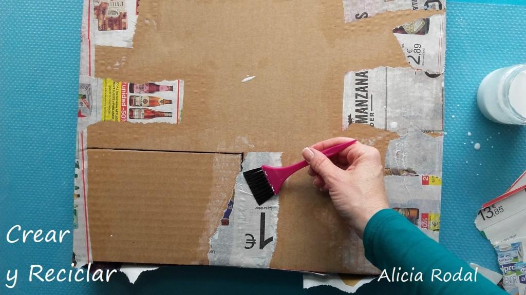 Ampliación de la casa de muñecas La solana y el garaje DIY