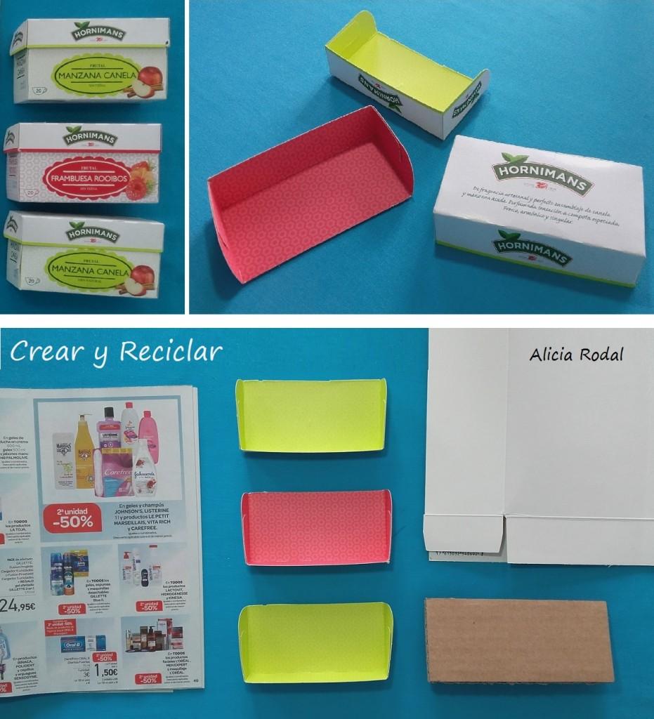 Materiales. Office para casa de muñecas DIY ♻️ mesa escritorio con repisas