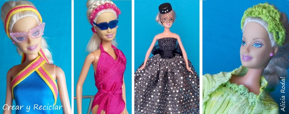 ropa para muñecas con retales