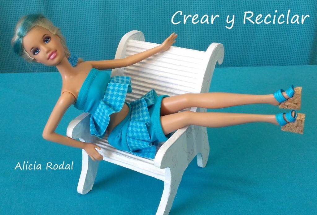 ROPA de muñecas y SANDALIAS para la piscina DIY