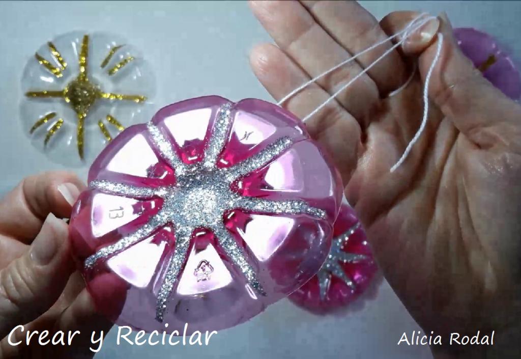 Ideas de navidad con botellas de plástico