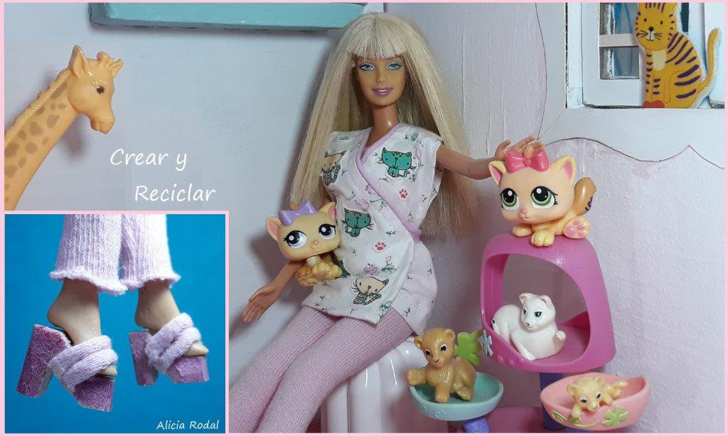 Cómo hacer un uniforme de ENFERMERA veterinaria para las muñecas