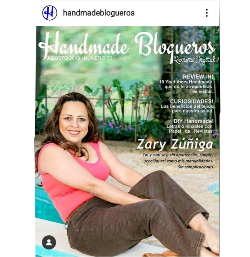 Handmade Blogueros Revista Digital Nº 35. Agosto 2019