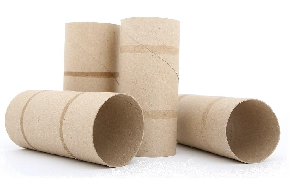 Ideas fáciles para reutilizar tubos de cartón del papel higiénico o papel de baño