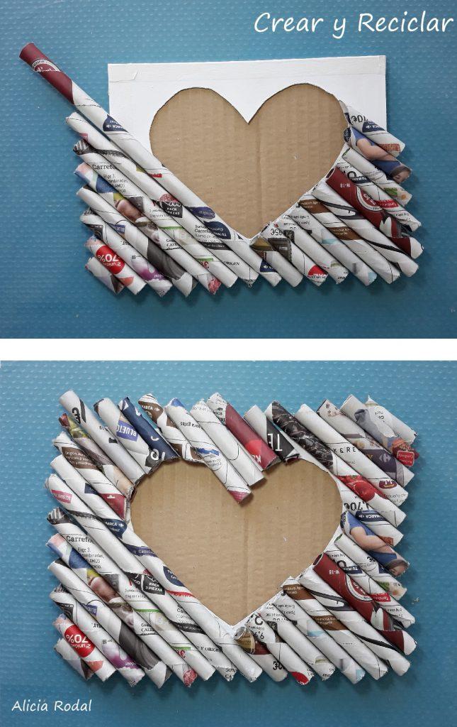 En este curso te muestro cómo hacer un portaretrato con cartón, papel y retales de tela. DIY