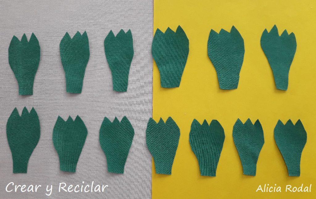 En este tutorial verás qué fácil es hacer unas flores con retales de tela, para hacer un lindo ramo de rosas rojas.