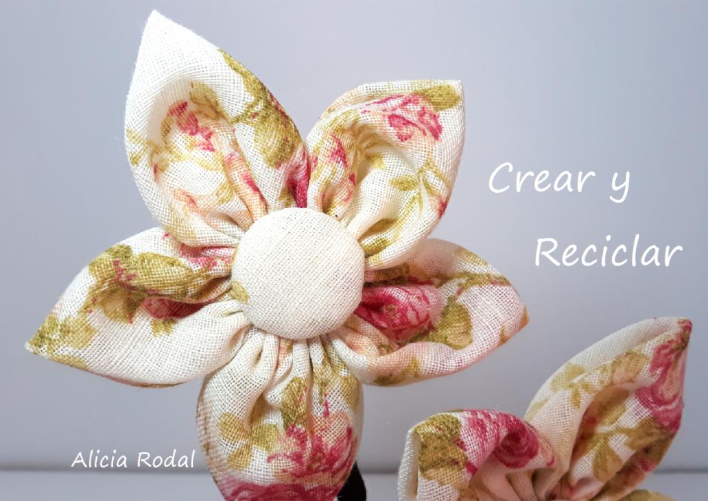 En este tutorial te muestro 8 ideas y trucos para hacer flores con retales de tela.