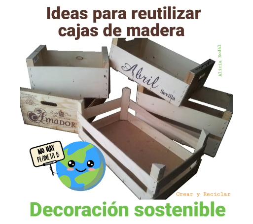 Aquí encontrarás más de 35 ideas de manualidades para hacer en casa con diferentes materiales reciclables, cartón, cajas de madera o huacales, papel periódico, revistas, vidrio, tubos de cartón de papel higiénico, plástico, telas y muchos más.