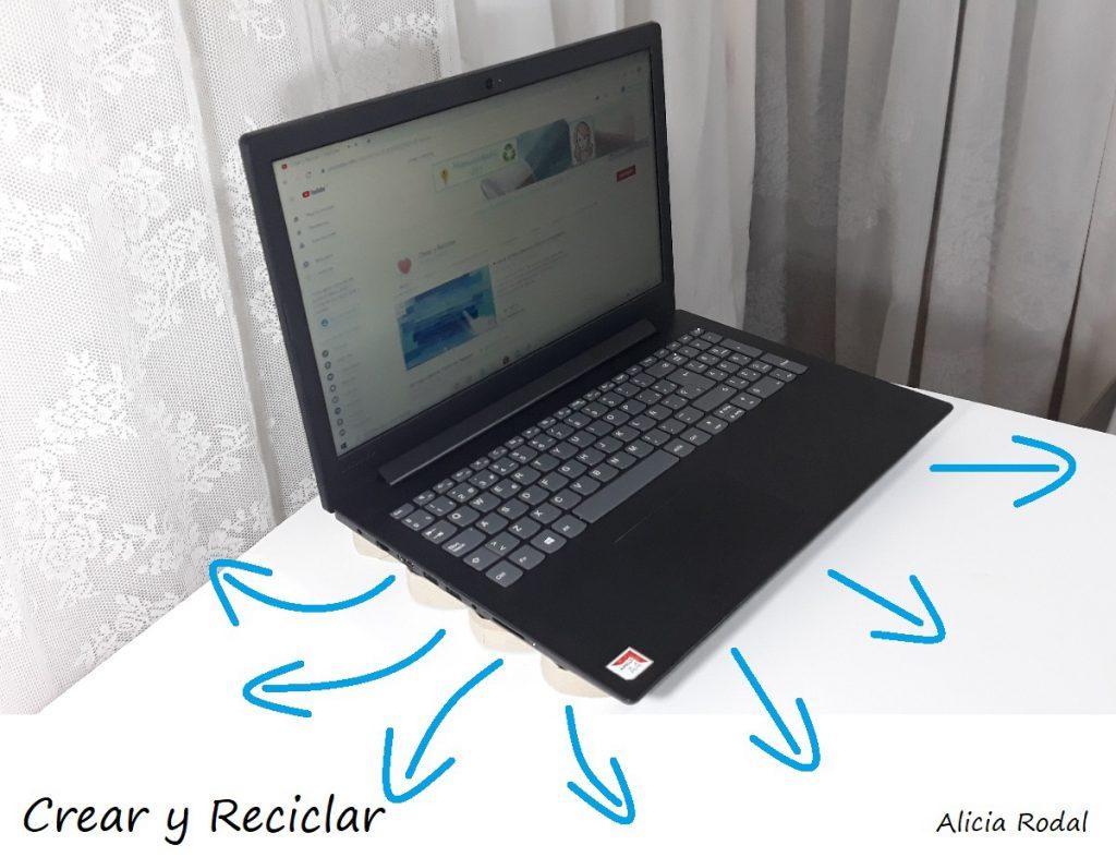 Cómo hacer un soporte para el móvil celular y una base para el portátil o laptop con tubos de cartón de papel de baño. Fácil, sencillo, rápido, económico, práctico y funcional.