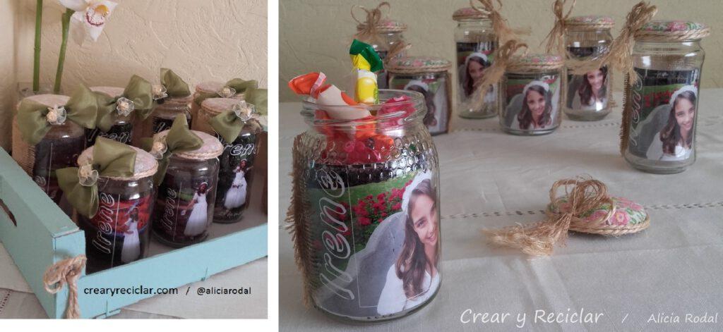 Como decorar BOTELLAS y frascos de VIDRIO reciclaje DIY. Ideas para reutilizar frascos de vidrio. Cómo hacer floreros, porta velas, costurero, organizador, con envases, frasco o botellas de vidrio, de varias formas tamaños y colores; y otros materiales reciclados.