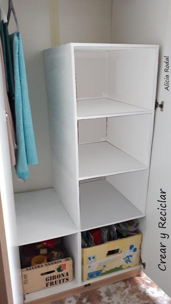 Cómo hacer Muebles y cajones de cartón fácil y rápido y resistentes, 6 ideas, para armarios, roperos, organizadores, closets, guardarropas, aparadores, cómodas… DIY