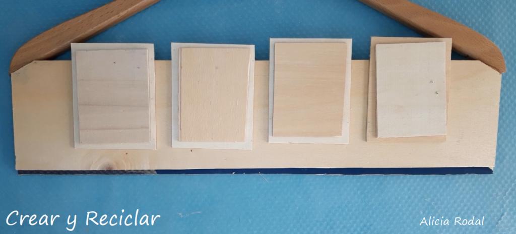 Cómo hacer un colgador de llaves, bufandas y mascarillas, con una simple caja de madera o huacal. DIY.