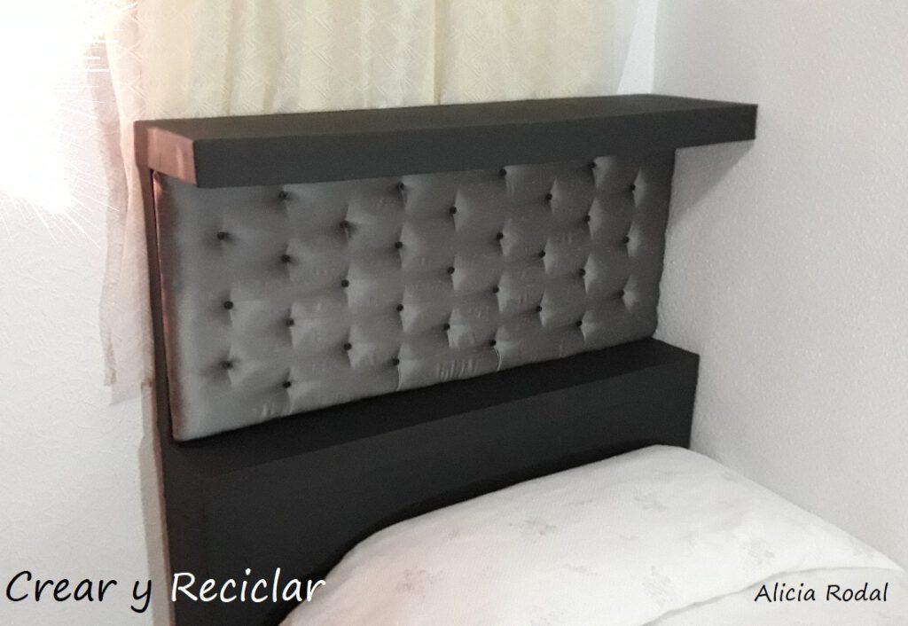 Aprende en casa con este tutorial de cómo hacer un mueble elegante para decorar la cama.